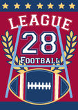 Voetballiga 28 royalty-vrije illustratie