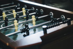 Voetballijst met spelers royalty-vrije stock afbeeldingen