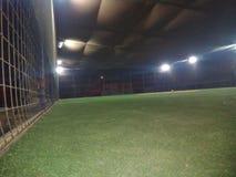 Voetbalnacht Stock Foto