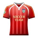 Voetbaloverhemd voor speler Stock Foto's