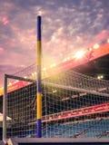 Voetbalstadion royalty-vrije stock afbeelding