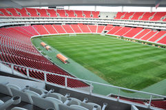 Voetbalstadion Stock Foto's