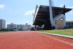 Voetbalstadion royalty-vrije stock fotografie