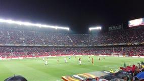 Voetbalstadion Stock Foto