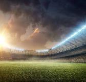 Voetbalstadion 10 Royalty-vrije Stock Foto's