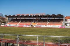 Voetbalstadion Bayreuth Royalty-vrije Stock Foto