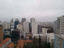 Voetbalstadion in Sao Paulo, Brazili? stock fotografie