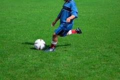 Voetbalster royalty-vrije stock fotografie
