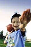 Voetbalster Royalty-vrije Stock Afbeelding