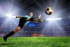 Voetbalster Royalty-vrije Stock Foto's