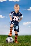Voetbalster stock foto