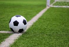 Voetbalvoetbal Royalty-vrije Stock Afbeeldingen