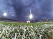 Voetbalwedstrijd Stock Foto