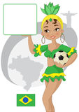 Voetbalwereldbeker Royalty-vrije Stock Afbeelding