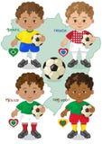 Voetbalwereldbeker A Royalty-vrije Stock Foto