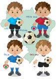 Voetbalwereldbeker D Stock Afbeeldingen