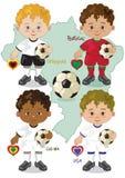 Voetbalwereldbeker G Royalty-vrije Stock Afbeelding