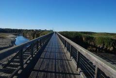 Voetbrug Stock Afbeelding