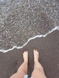 voeten stock fotografie