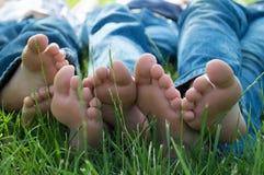 voeten Royalty-vrije Stock Afbeeldingen
