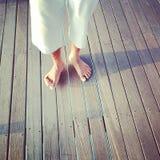 voeten Stock Foto