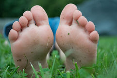 voeten Stock Foto's