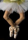 Voeten in ballet Royalty-vrije Stock Fotografie