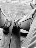 voeten stock afbeelding