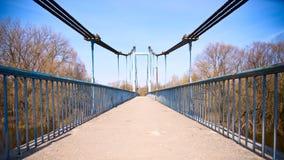 Voetgangersbrug Stock Afbeelding