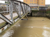 voetgangersbrug Royalty-vrije Stock Afbeelding