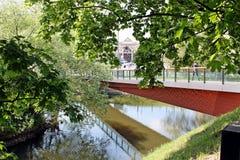 voetgangersbrug Royalty-vrije Stock Afbeeldingen