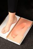 Voetmeaserment voor orthotics Stock Fotografie