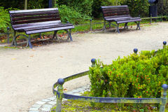 Voetpad in park Royalty-vrije Stock Afbeelding