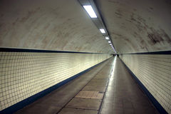 Voettunnel Stock Foto
