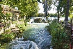 Voetwortelwaterval, Turkije stock afbeelding
