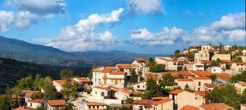 Vofou village panorama. Cyprus Stock Photography