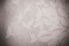 Vogel abstracte achtergrond Stock Foto