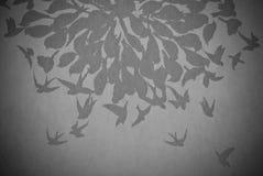 Vogel abstracte achtergrond Stock Fotografie