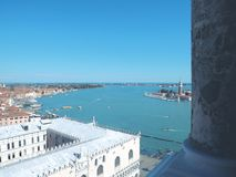 Vogel-Auge Ansicht-Venedig, Italien Stockfoto