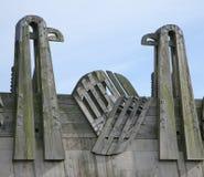 Vogel-Brücke Stockfotografie