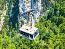 Vogel cable car at Lake Bohinj Stock Photo