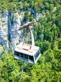 Vogel cable car at Lake Bohinj royalty free stock photography