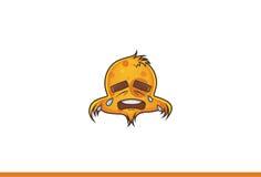 Vogel emoji Schreien Stockfotos