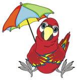 Vogel en de zomertijd Stock Foto's