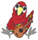 Vogel en muziekvoorwerp Royalty-vrije Stock Fotografie