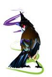 Vogel en natuurlijk Royalty-vrije Stock Fotografie