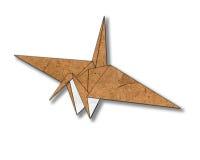 Vogel gemaakt ââfrom document om te snijden Royalty-vrije Stock Afbeelding