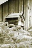 Vogel-Haus stockbild