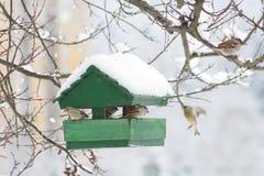Vogel-Haus Lizenzfreie Stockfotos