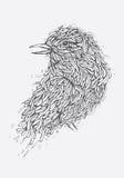 Vogel-Illustration Stockbilder